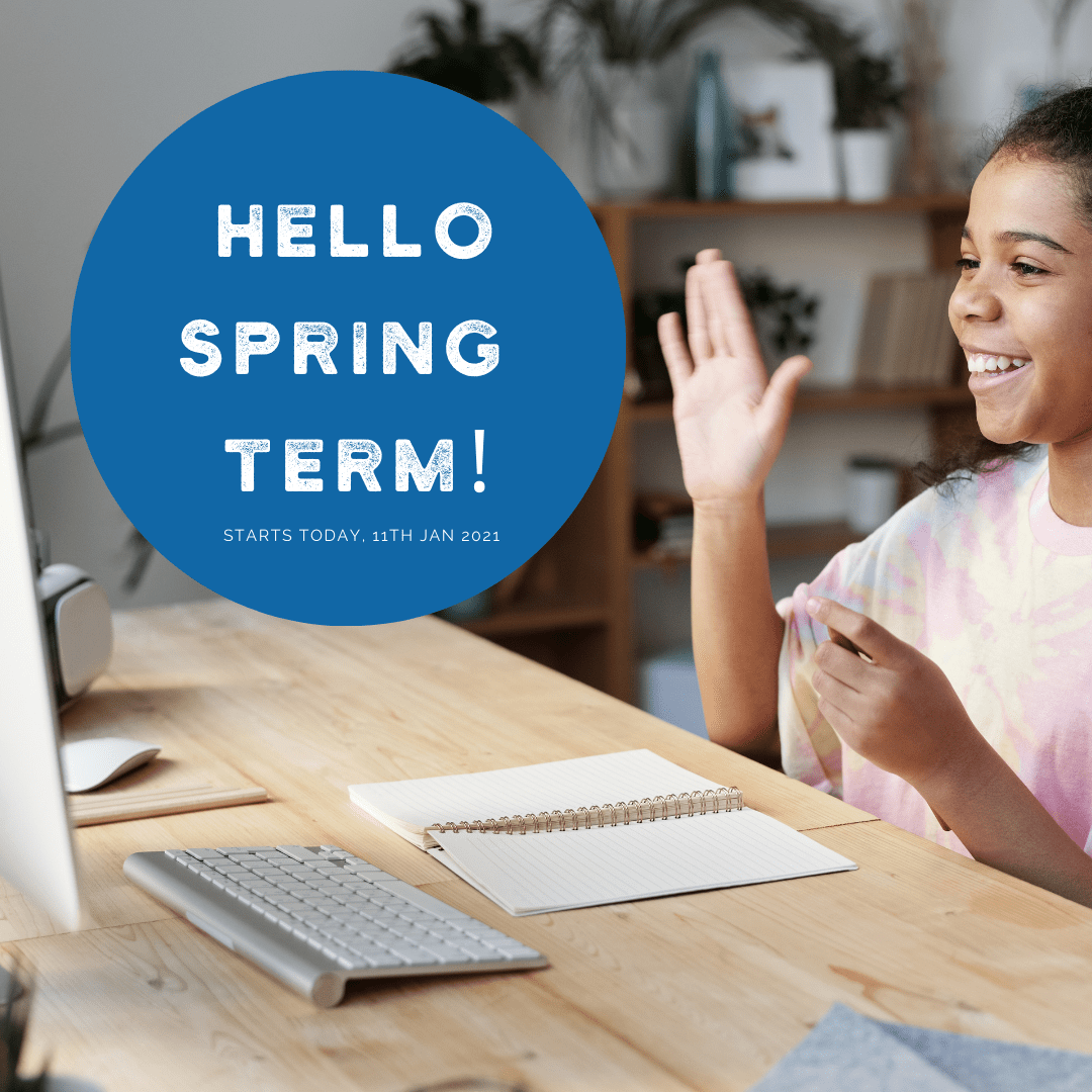 """Featured image for """"Spring Term Starts Today!"""""""