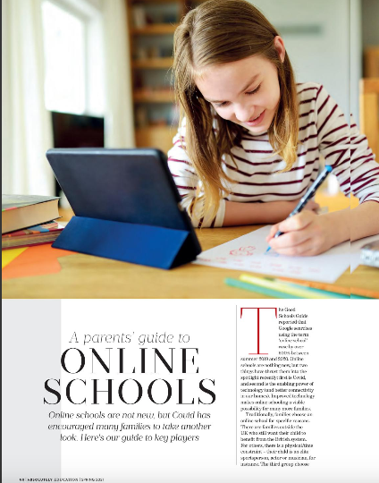 """Featured image for """"Absolutely Education – A Parents' guide to online schools."""""""